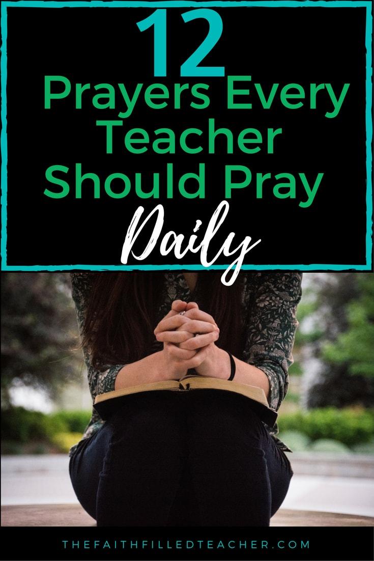 12 Prayers Every Teacher Should Pray Daily